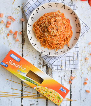 spageti piperies